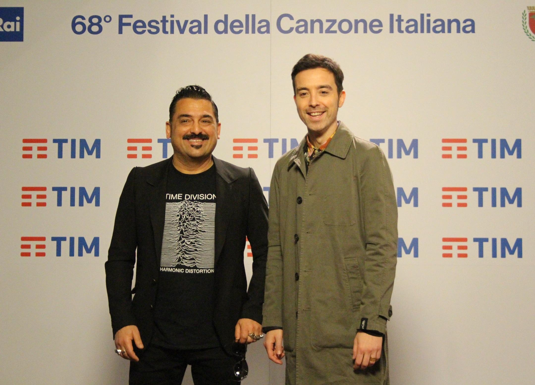 """Diodato e Roy Paci presentano il proprio brano """"Adesso"""", in gara al 68esimo Festival di Sanremo"""