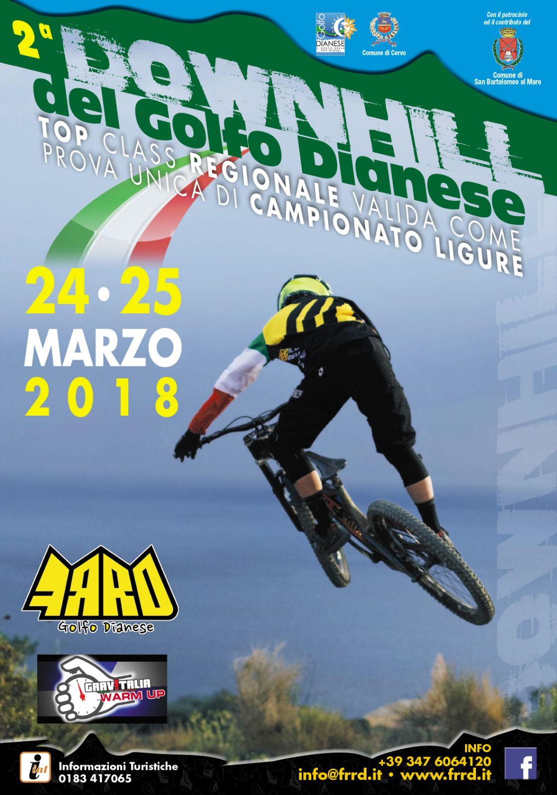 Seconda edizione sabato 24 e domenica 25 marzo per la Downhill del Goldo Dianese
