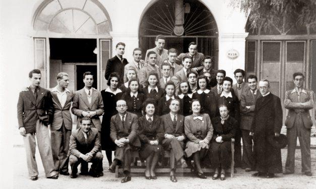 Il palazzo scolastico di Piazza Eroi Sanremesi: una classe singolare