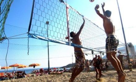 """K-BEACH:week-end ricco di emozioni con il 3VS3 misto di beach volley organizzato dalla """"RIVIERAVOLLEYSANREMO"""""""