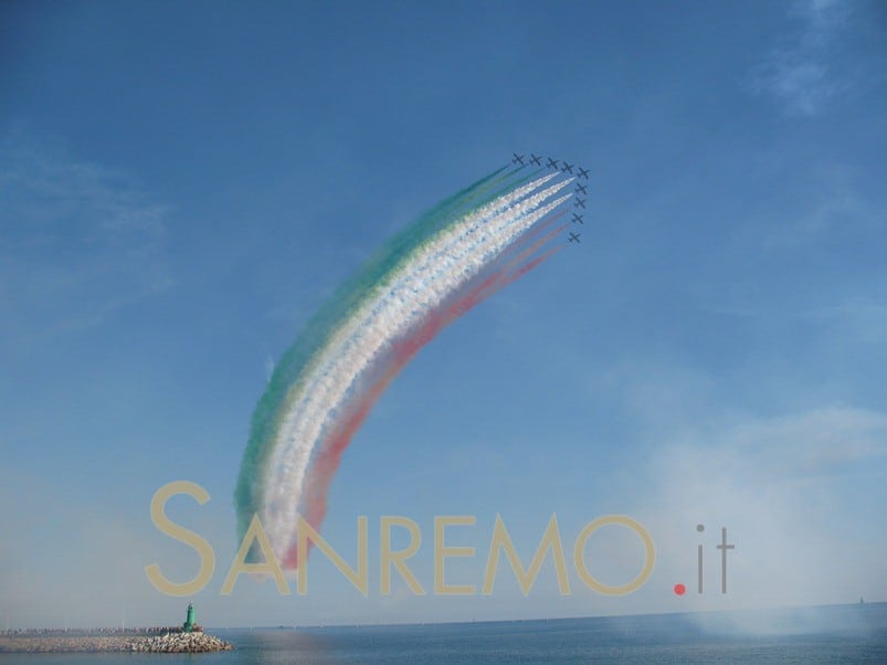Imperia festeggia le Frecce Tricolori