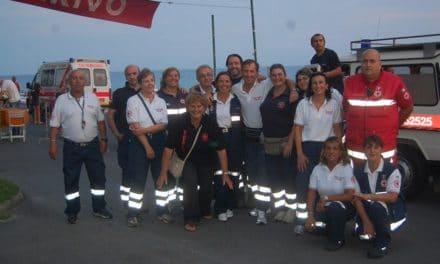 """Bordighera: la """"Marcia della Croce Rossa"""" non delude le attese."""