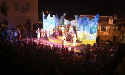 Il Teatro della Tosse riempie Apricale di musica, arte e spettacolo