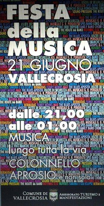 Si terrà a Vallecrosia, venerdì 21 giugno, l'ormai consueto appuntamento con la festa della musica. Il comune, capitanato dalla neoeletta amministrazione targata Giordano, aspetta così l'arrivo della nuova stagione turistica,…