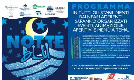 """Sanremo: scatta la """"Notte Blu"""""""