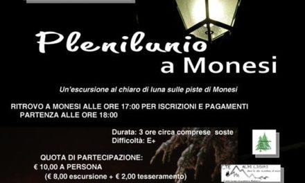 """""""Plenilunio"""" a Monesi: escursione con le ciaspole al chiaro di luna…"""
