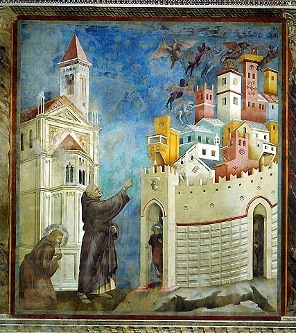 Forse non tutti sanno che a Ventimiglia esistevano due conventi di Frati Minori Francescani: uno fuori le mura, Convento dell'Annunziata ed uno entro la cinta muraria, Convento di San Francesco.