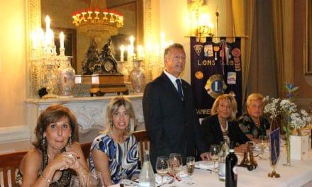Sanremo: apertura per l'attività del Lions Club Matutia