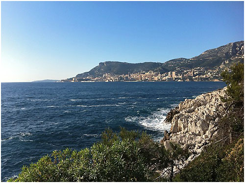 "La ""gita"" si svolge da Roquebrune Vieux Village sulle alture di Mentone e Roquebrune Cap Martin."