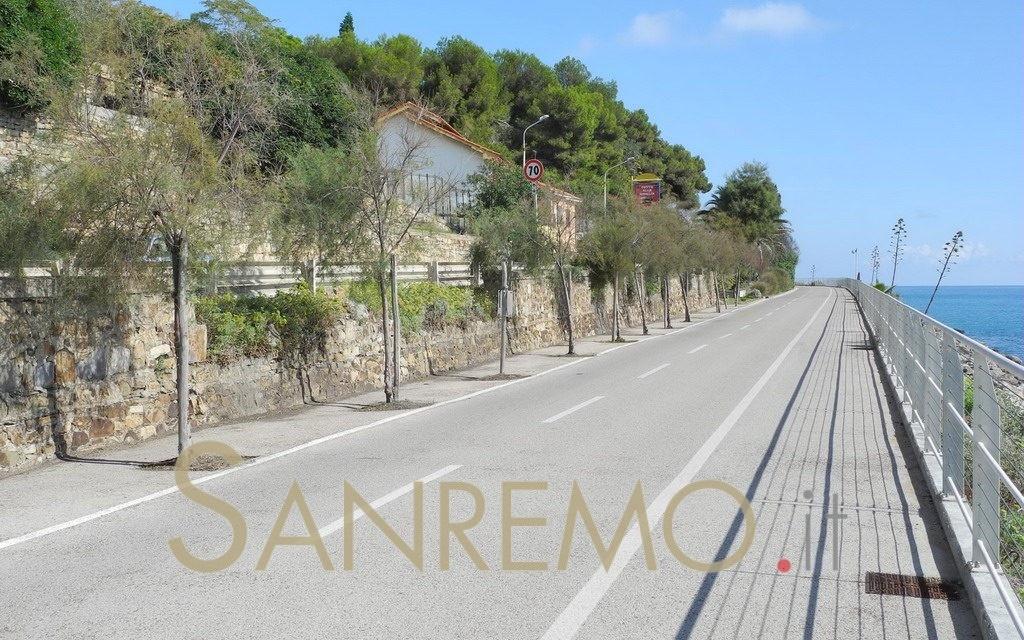 Sanremo: tutto secondo programma per i lavori sulla ciclabile