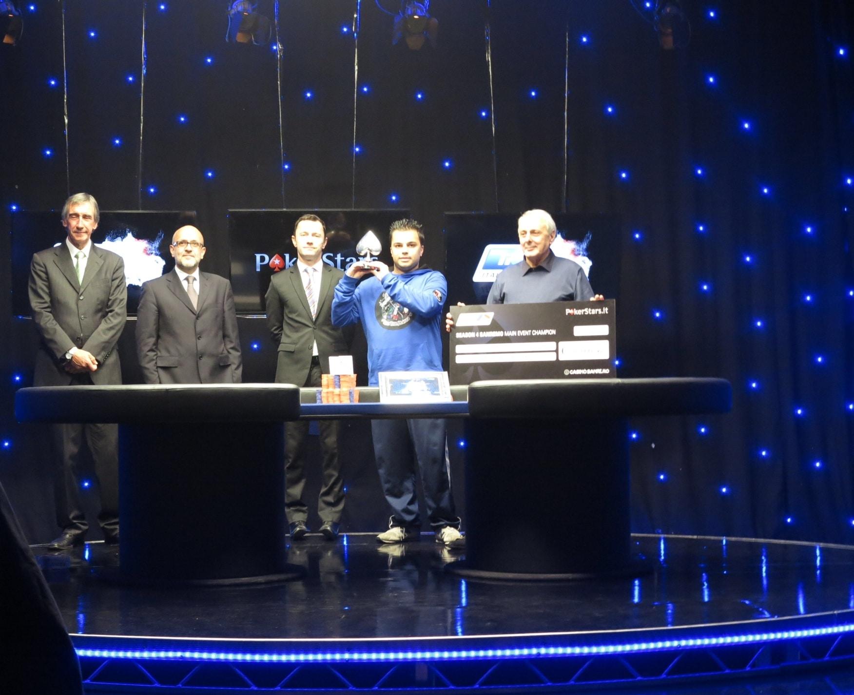 Nicola Sasso, il tenace pokerista di Bisceglie, dopo un lungo testa a testa con David Peters si è aggiudicato il Grand Final dell'Italian Poker Tour, ultimo appuntamento per la Stagione…