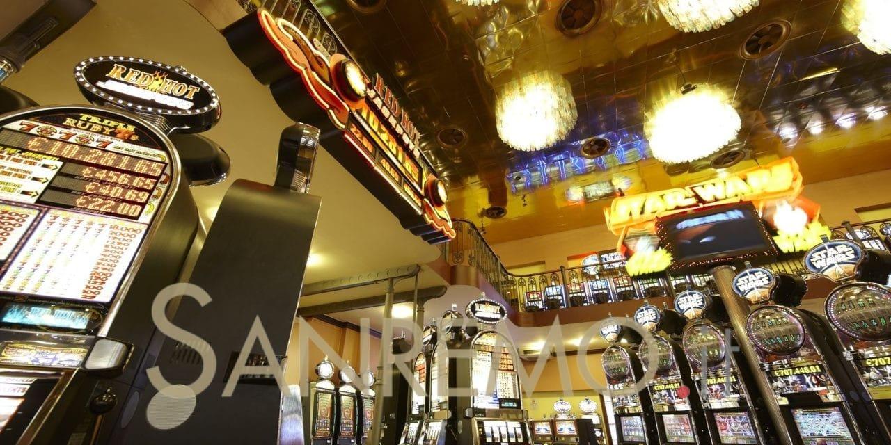 """Sanremo: le """"slot"""" del Casinò premiano i giocatori"""
