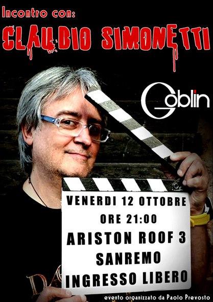 L'ex leader dei Goblin ed autore di alcune delle più celebri colonne sonore dei film di Dario Argento (Profondo Rosso e Suspiria su tutte), verrà celebrato dai fan questa sera…