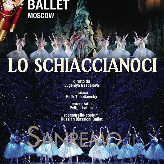 "Sanremo: debutto del Russian Classical Ballet con ""Lo Schiaccianoci"""