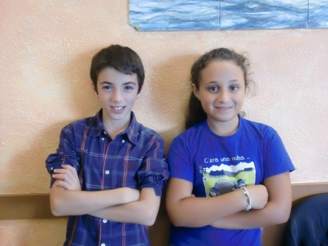 Letizia Arceri e Valerio Federico di Vallecrosia hanno la danza nel sangue e un talendo particolare: promettono un brillante e radioso futuro nel mondo del ballo.