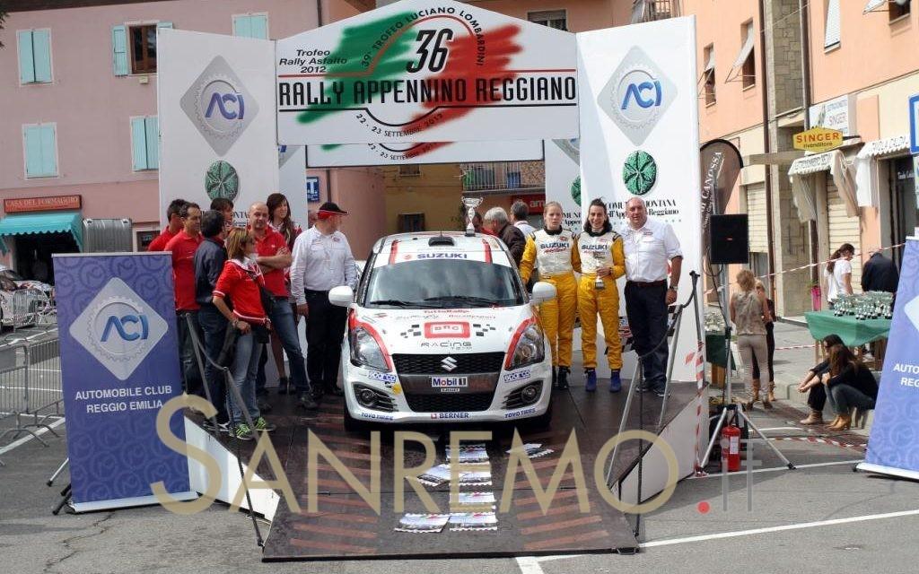 Rally di Sanremo: al via la ventimigliese Sonia Boi