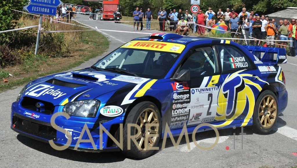 """Rally: Piero Longhi secondo nel trofeo """"Irc Cup"""""""