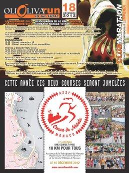 """Quest'anno, infatti, i buoni uffici del vulcanico William Stua (Presidente dell'Imperia Club Marathon) hanno garantito un gemellaggio con la """"mitica"""" Cursa de Natale, la dieci km monegasca corsa poco prima…"""