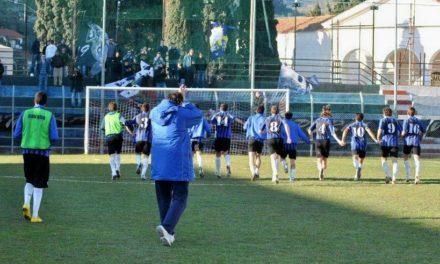 """Calcio: la """"nuova"""" Imperia al lavoro a San Bernardo di Mendatica"""
