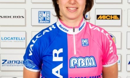 """Ilaria Sanguinetti: """"il ciclismo…la mia grande passione"""""""