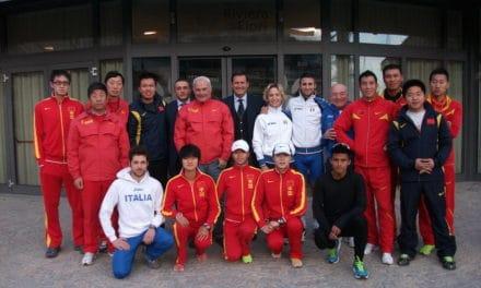 """Sanremo: sulla """"ciclabile"""" hanno marciato i cinesi olimpionici!"""
