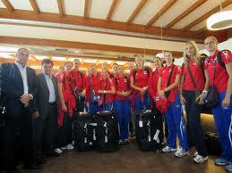 La Nazionale russa di volley femminile in ritiro a Ventimiglia