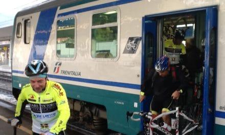 Sport e turismo: gratuito il trasporto delle bici sui treni regionali
