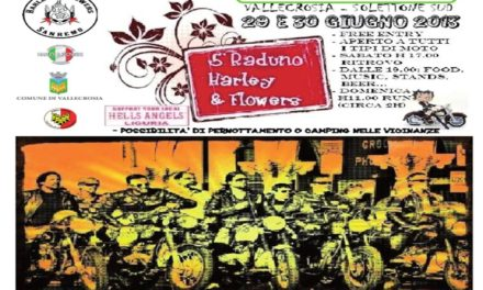 Quinto raduno Harley and Flowers