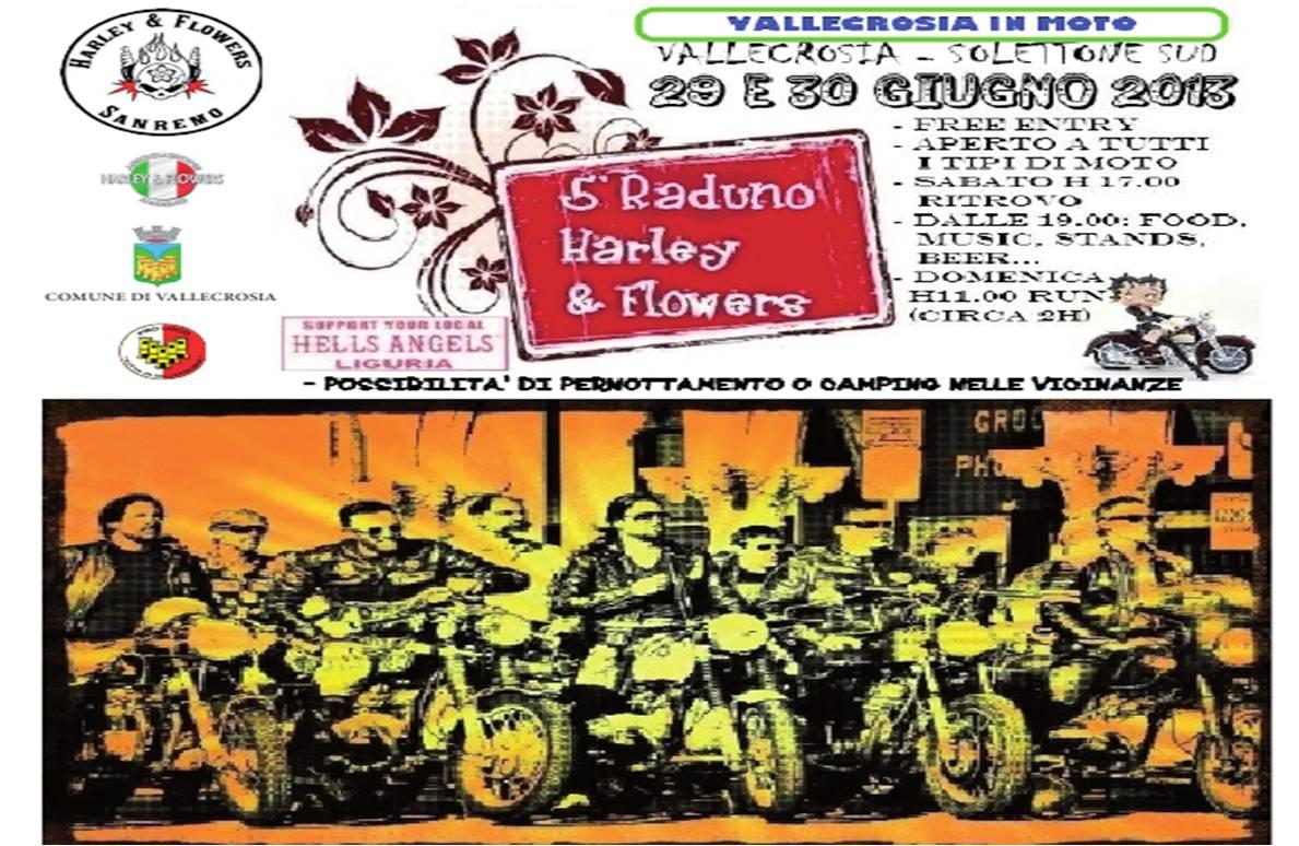 Fine settimana di motori a Vallecrosia: il 29 e il 30 giugno, sul solettone sud della città, ci sarà il quinto raduno Harley & Flowers, che permetterà agli amanti delle…