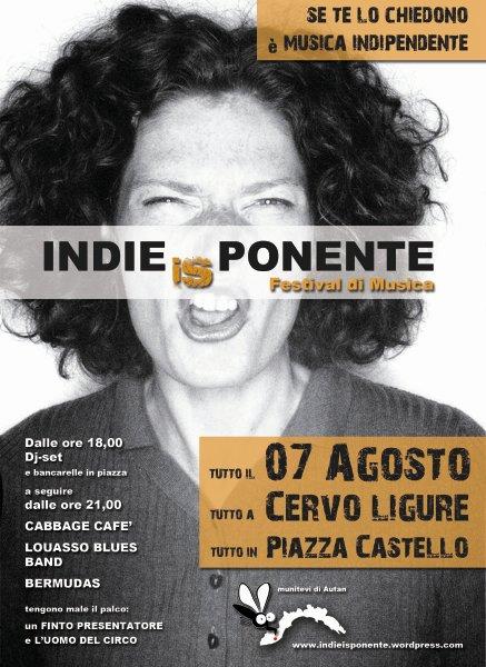 E' stato presentato INDIEisPONENTE, festival di musica indipendente che si terrà nel pittoresco borgo medioevale di Cervo (IM), il 7 agosto, sulla Piazza del celebre castello dei Clavesana, quasi interamente…