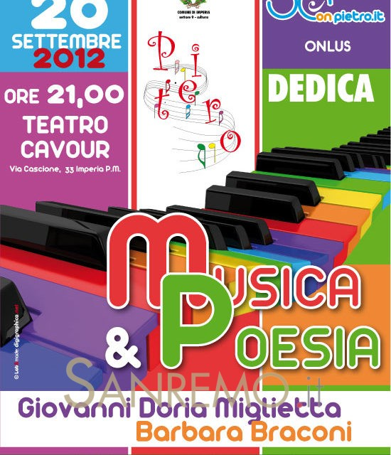 Musica & Poesia per Pietro