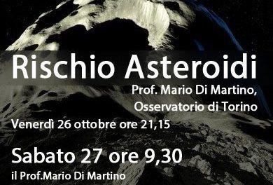 Asteroidi, due incontri a Perinaldo