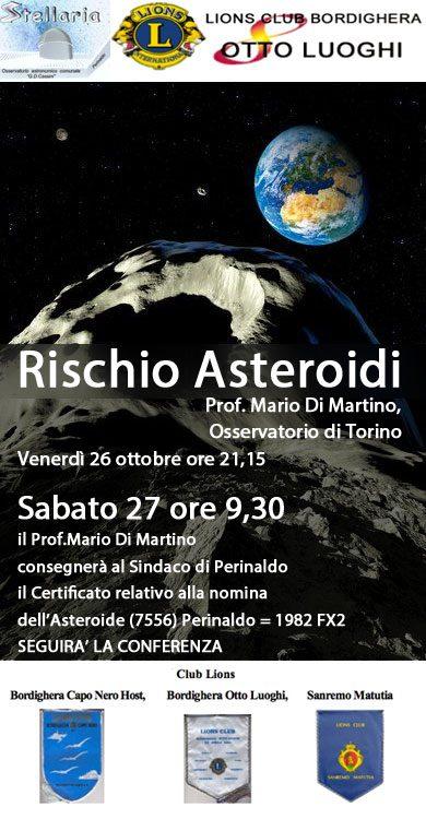 Doppio appuntamento il 26 e 27 ottobre con l'affascinante mondo dell'astronomia nel borgo ligure