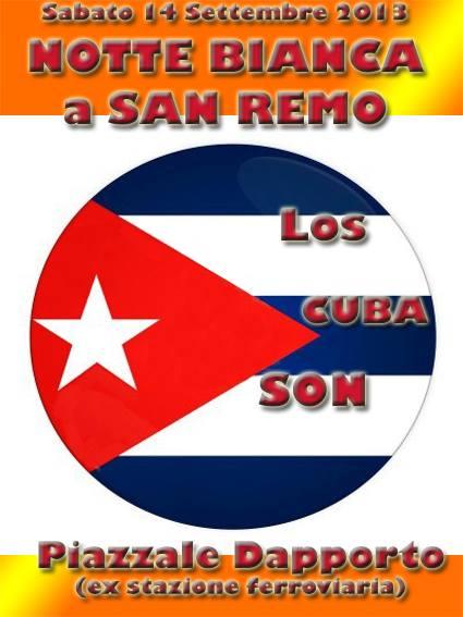 Los Cuba Son è una band di Sanremo, ma sopratutto un gruppo di amici che vogliono riportare le sonorità cubane in terra Ligure. Costituitasi nel 2012, eseguono esclusivamente musica tipica…