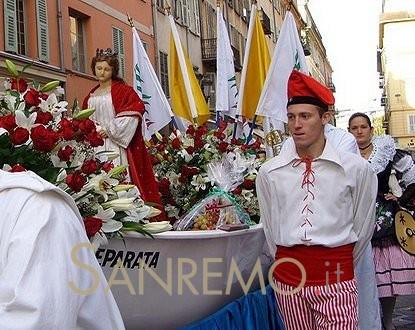 Fête de Sainte Réparate, la Patronne de Nice