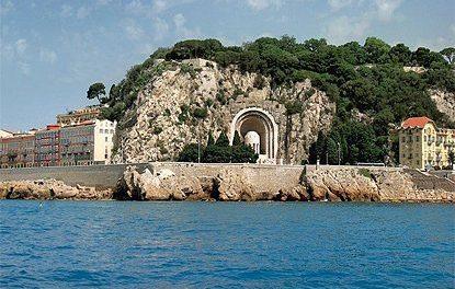 Le Château de Nice, emblême de la cité