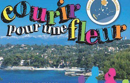 Antibes : 33e édition de Courir pour une fleur