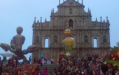 Le Carnaval de Nice s'exporte à Macao
