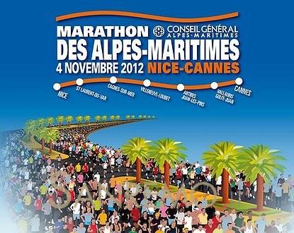 La 5e édition du Marathon des Alpes-Maritimes Nice-Cannes