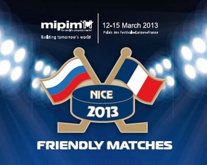 Dans le cadre du Marché International des professionnels de l'immobilier, le MIPIM-2013, à Cannes, le club du hockey « Les légendes du hockey » réalisera une série de matchs amicaux…