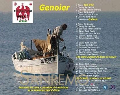 Présentation du Calendari Nissart 2013