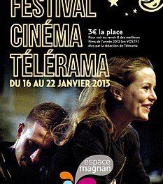 Festival Télérama ? C'est du 16 au 22 janvier prochain !