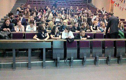 L'ESN Nice organise le Welcome Day, la journée d'accueil des étudiants internationaux.