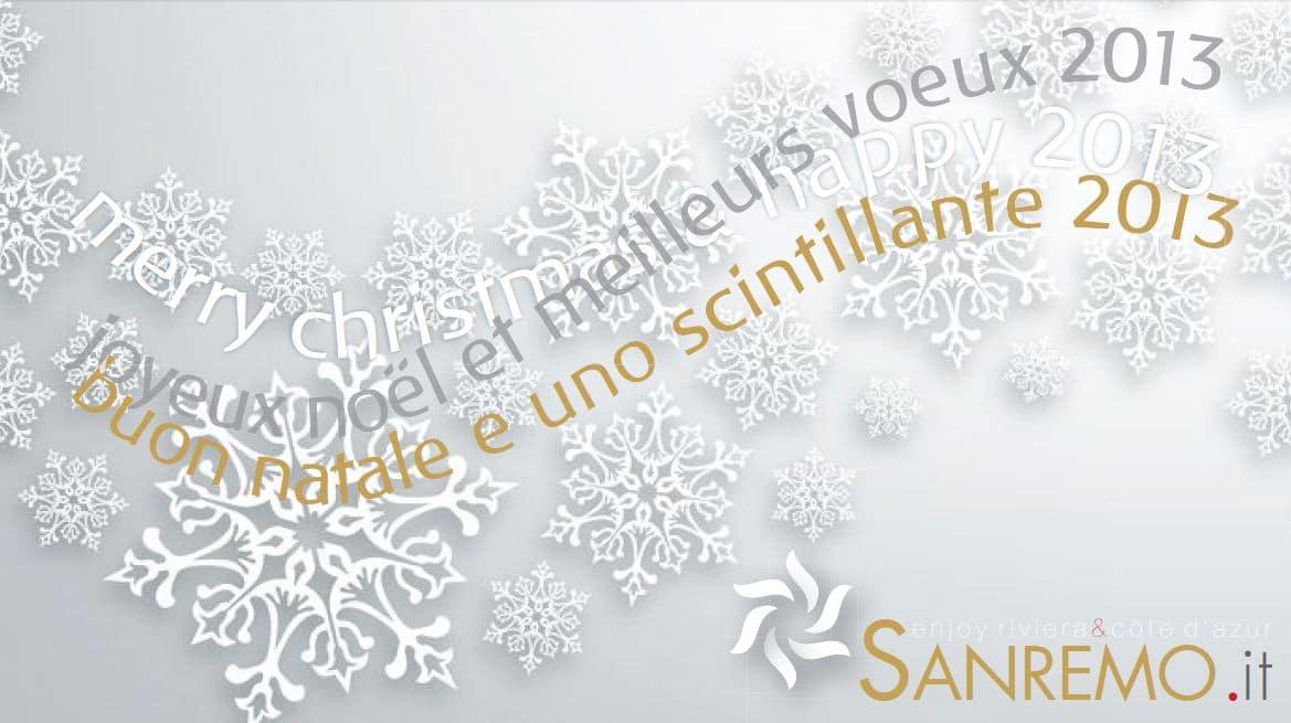 Da parte di tutto lo staff di Sanremo.it i migliori auguri di Buon Natale!