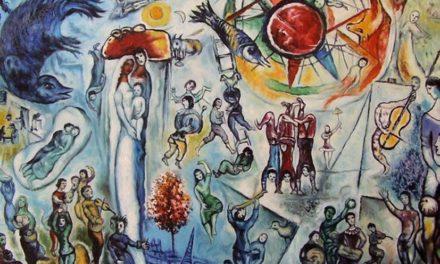 """""""I colori della vita"""" di Marc Chagall"""
