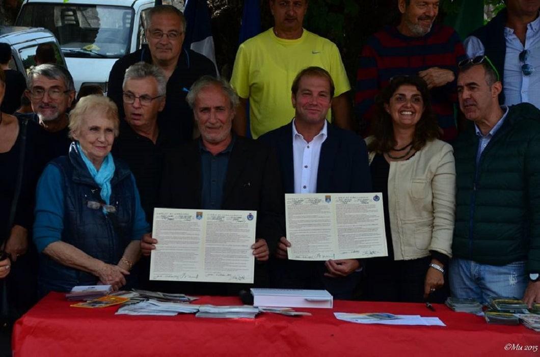 Domenica 4 ottobre la firma a siglare l'amicizia che unisce da diversi anni i due paesi medievali