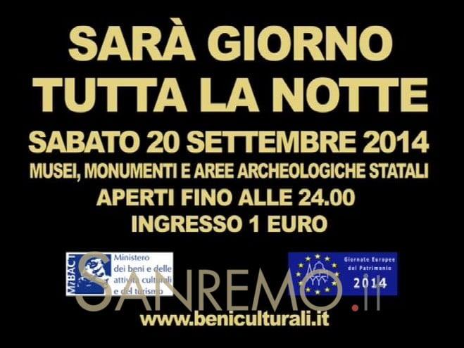 31a edizione delle Giornate Europee del Patrimonio