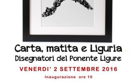 """""""Carta, matita e Liguria"""": a Imperia la mostra che celebra gli artisti del Ponente"""