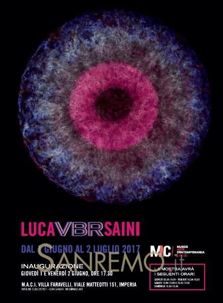 VBR, la nuova mostra temporanea del MACI di Imperia con Luca Saini