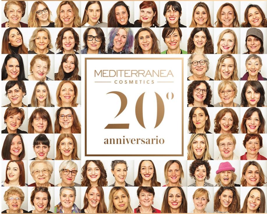 Sabato 13 maggio Mediterranea, la linea cosmetica firmata Carli, festeggia tra fotografie e bellezza i suoi 20 anni